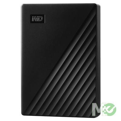 MX78688 4TB My Passport Portable HDD, USB 3.2, Black