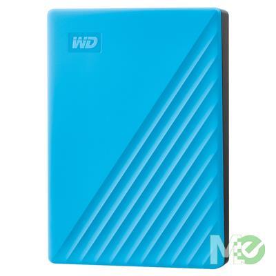 MX78693 4TB My Passport Portable HDD, USB 3.2, Blue