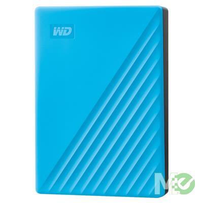MX78694 2TB My Passport Portable HDD, USB 3.2, Blue