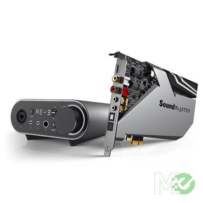 MX78811 Sound BlasterX AE-9 Sound Card w/ DAC, Xamp Discrete Headphone Bi-Amp, Audio Control Module