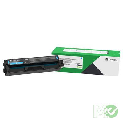 MX78864 C3210C0 Return Program Print Cartridge, Cyan
