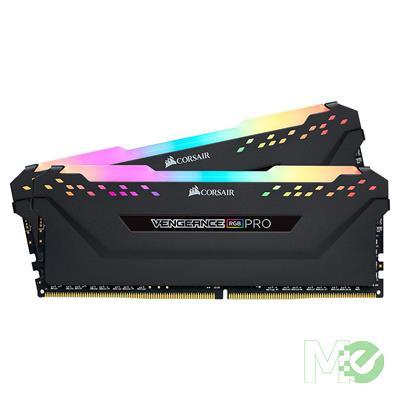 MX78933 Vengeance RGB Pro 32GB DDR4 3200MHz CL16 Dual Channel Kit (2 x 16GB), Black