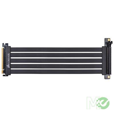 MX79028 Premium PCI-E 3.0 x16 Extension Cable, 300mm, Black