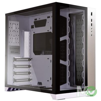 MX79208 O11D Dynamic Tempered Glass E-ATX Case, White