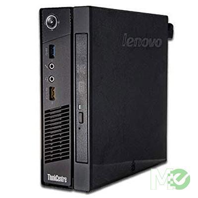 MX79308 ThinkCentre M93p Tiny PC (Refurbished) w/ Core™ i7-4765T, 8GB, 256GB SSD, DVD±RW, Windows 10 Pro