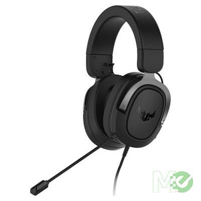 MX79383 TUF Gaming H3 Headset, Discord / TeamSpeak Certified, Wired, Gunmetal