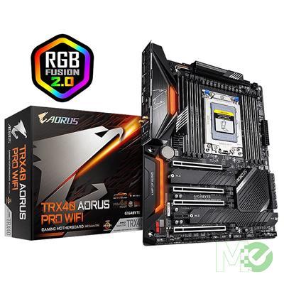 MX79689 TRX40 AORUS PRO WI-FI w/ DDR4-3200, 7.1 Audio, Gigabit LAN, Wi-Fi 6, CrossFire / SLI