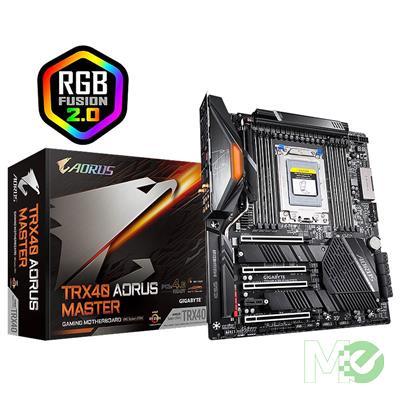 MX79691 TRX40 AORUS MASTER E-ATX w/ DDR4-3200, 7.1 Audio, 5G + GB LAN, Wi-Fi 6, CrossFire / SLI