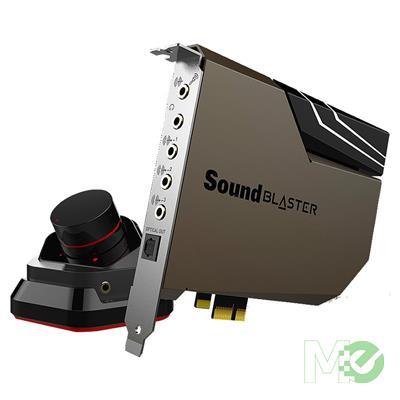 MX80073 Sound BlasterX AE-7 Hi-Res PCI-e DAC and Amp Sound Card w/ Xamp Discrete Headphone Bi-amp, Audio Control Module