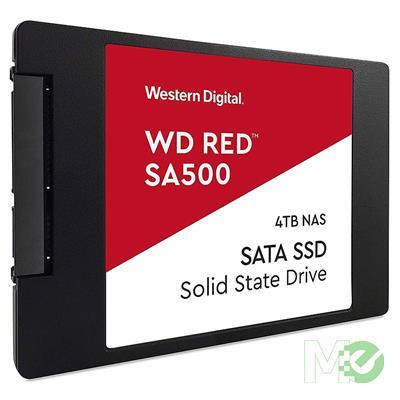 MX80081 Red SA500 SATA III 2.5in NAS SSD,  4TB