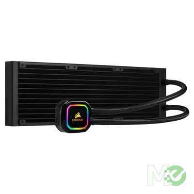 MX80182 H150i RGB PRO XT Liquid Cooler w/ 360mm Radiator, 3x 120mm ML Series Fans