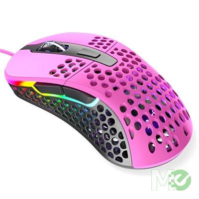 MX80209 M4 RGB Ultra-Light Gaming Mouse, Pink