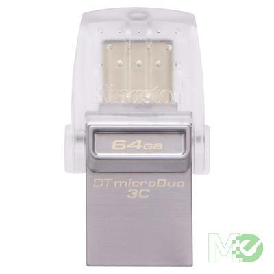 MX80229 DataTraveler MicroDuo 3C w/ USB 3.1 Type-C + USB 3.1 Type-A Ports, 64GB