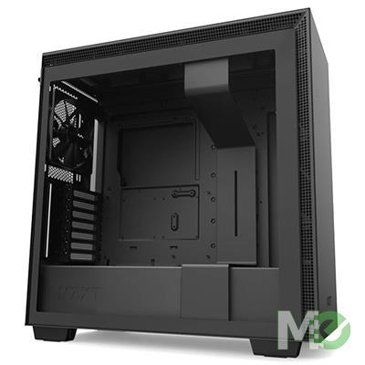 MX80285 H710 Mid Tower E-ATX Case w/ Tempered Glass Panel, Black