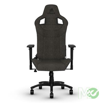 MX80332 T3 Rush Fabric Gaming Chair, Charcoal