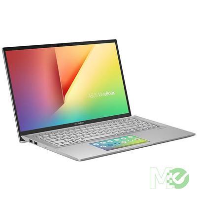 MX80387 VivoBook S15 S532FA-DH55 w/ Core™ i5-10210U, 8GB, 512GB PCIe SSD, 15.6in Full HD, ScreenPad, Win 10 Home, Transparent Silver