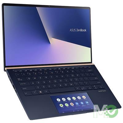 MX80388 Zenbook 14 UX434FLC-XH77 w/ Core™ i7-10510U, 16GB, 512GB PCIe SSD, 14in Full HD, ScreenPad, GeForce MX 250, Win 10 Pro