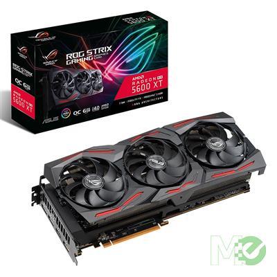 MX80439 ROG STRIX RX 5600XT OC GAMING Radeon RX 5600 XT 6GB PCI-E w/ HDMI, Triple DP