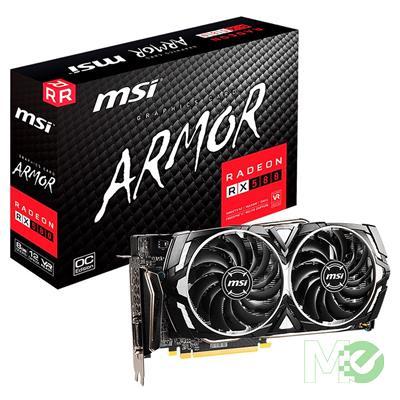 MX80477 Radeon RX580 ARMOR X 8GB PCI-E w/ DVI-D, Dual HDMI, Dual Displayport