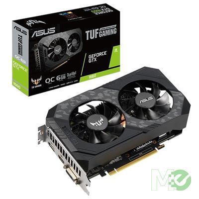 MX80519 TUF GTX1660S OC GAMING GeForce GTX1660 SUPER 6GB PCI-E w/ HDMI, DisplayPort, DVI