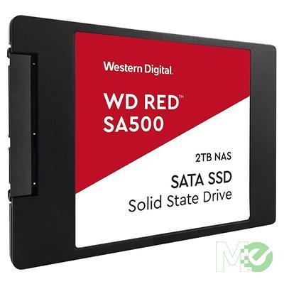 MX80628 Red SA500 SATA III 2.5in NAS SSD,  2TB