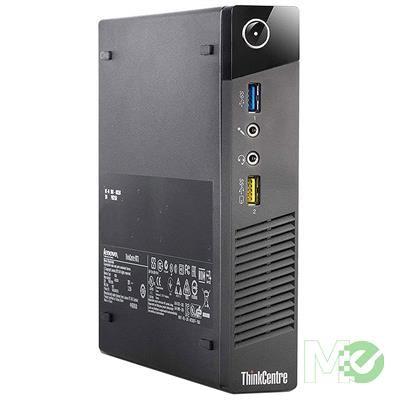 MX80672 ThinkCentre M93 Tiny PC (Refurbished) w/ Core™ i5-4570T, 8GB, 256GB SSD, Windows 10 Pro