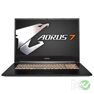 MX80785 AORUS 7 SA-7US1130SH w/ Core™ i7-9750H, 16GB, 512GB M.2 SSD, 17.3in Full HD 144Hz, GeForce GTX 1660 Ti, Windows 10 Home