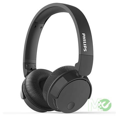 MX80797 TABH305 Bass+ Bluetooth Wireless Noise Cancelling Headphones w/ Microphone, Black