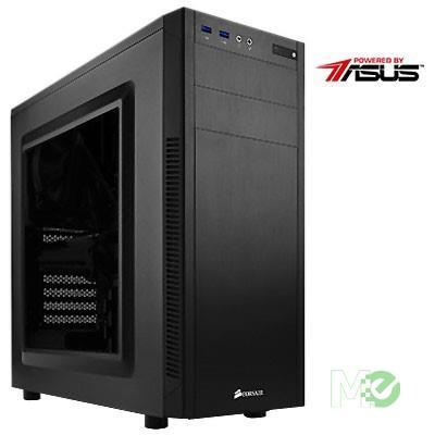 MX81176 Powered by ASUS PBA100I Gaming PC w/ Core™ i5-9400, 8GB, 500GB NVMe SSD, GTX 1650 SUPER, 802.11ac, Bluetooth v4.0, Win 10 Home
