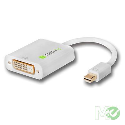 MX81245 Mini DisplayPort v1.2 to DVI-D Adapter, M/F, 150mm