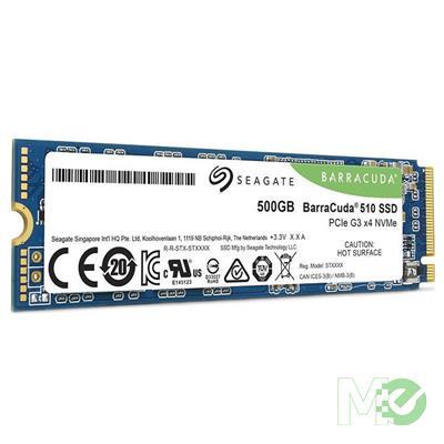 MX81318 500GB BarraCuda 510 M.2 NVMe PCIe Gen3 x4 SSD