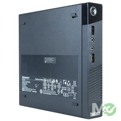 MX81332 ThinkCentre M83 Tiny Desktop PC (Refurbished) w/ Core™ i5-4570T, 8GB, 256GB SSD, Windows 10 Pro
