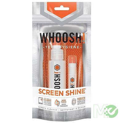 MX81409 Screen Shine DUO+ Cleaning Kit, 100ML+8ML w/ Microfiber Cloths