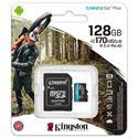 MX00113103 Canvas Go Plus Class 10 UHS-I A2 U3 microSDXC Card, 128GB w/ Adapter