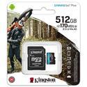 MX00113105 Canvas Go Plus Class 10 UHS-I A2 U3 microSDXC Card, 512GB w/ Adapter