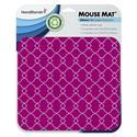 MX50796 Crimson Lattice Mouse Pad