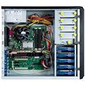 MX62238 IW-PE689 ATX / CEB Entry Pedestal Server Case, Black