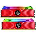 MX71906 16GB XPG SPECTRIX Liquid Cooled RGB LED DDR4-3600 RAM Kit, (2x 8GB)